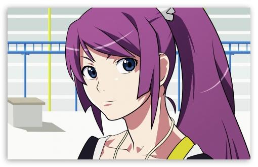 Download Bakemonogatari Hitagi VI UltraHD Wallpaper