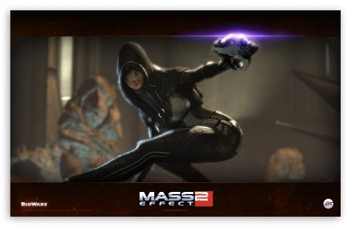 Download Mass Effect 2 Kasumi Goto UltraHD Wallpaper