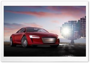 Audi E Tron Electric Supercar