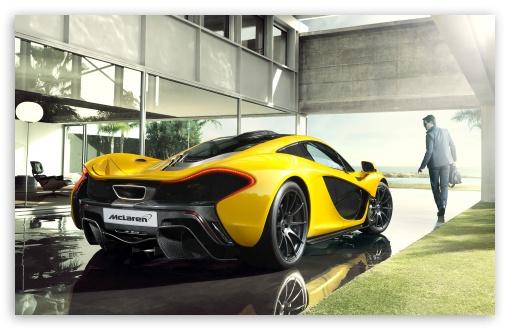 Download 2014 McLaren P1 Luxury Car UltraHD Wallpaper