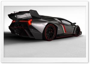2013 Lamborghini Veneno Rear