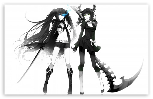 Download Dead Master   Black Rock Shooter UltraHD Wallpaper