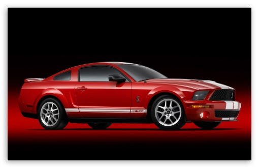 Download 2007 Ford Shelby GT500 Production Red 5 UltraHD Wallpaper
