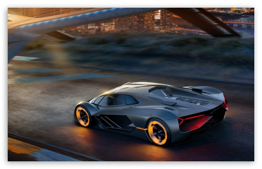 Download Lamborghini Terzo Millennio Electric... UltraHD Wallpaper