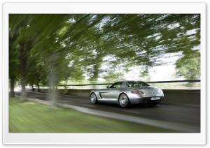 Mercedes Benz SLS AMG Rear View