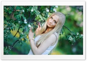 Pretty Light Blonde Woman