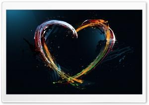 Paint Splash Heart