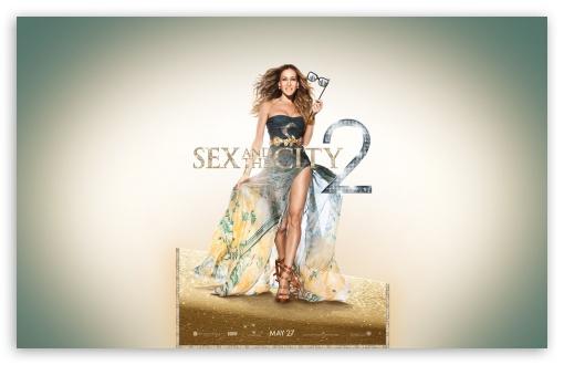 Download Sarah Jessica Parker as Carrie Bradshaw, Sex... UltraHD Wallpaper