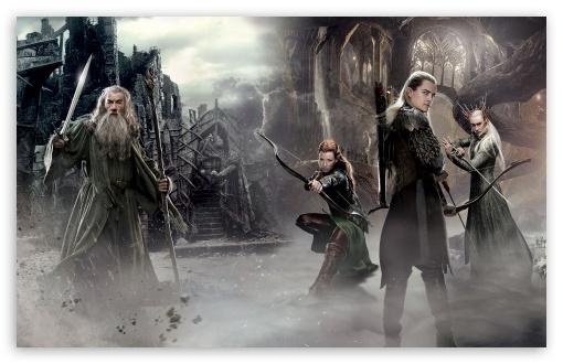 Download The Hobbit An Unexpected Journey 2 Elves UltraHD Wallpaper