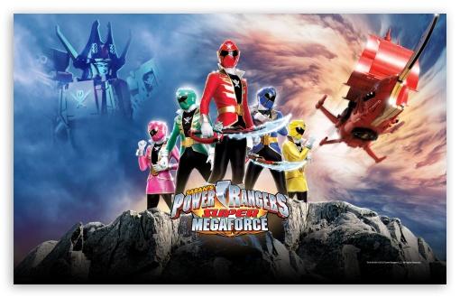 Download Sabans Power Rangers Super Megaforce UltraHD Wallpaper