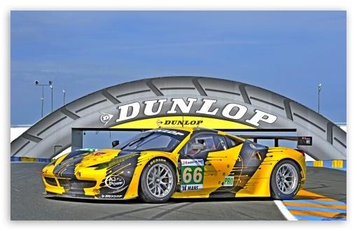 Download Dunlop Le Mans UltraHD Wallpaper