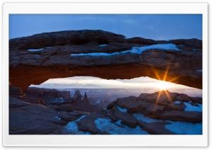 Desert Arch   Winter