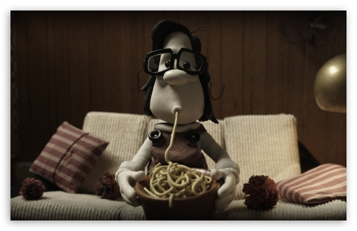 Download Mary And Max Spaghetti UltraHD Wallpaper