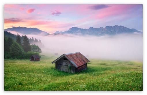 Download Alps Meadow, Germany UltraHD Wallpaper