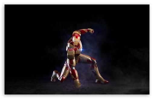 Download Iron Man 3 Background UltraHD Wallpaper