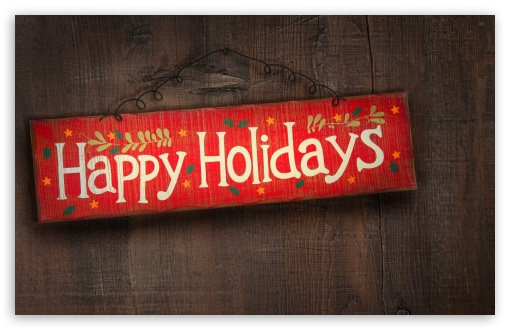 Download Happy Holidays UltraHD Wallpaper