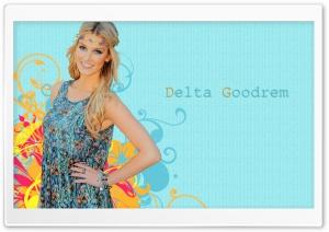 Delta Goodrem Hippie Look
