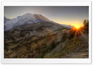 Mount Rainier National Park HDR