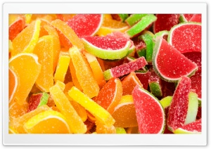 Citrus Fruit Gummy Jelly...