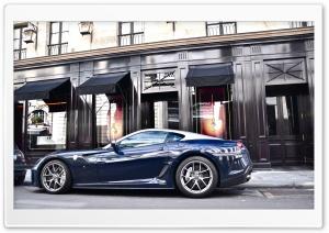 Dark Blue Ferrari