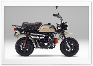 Honda Monkey Z50 2017 The...