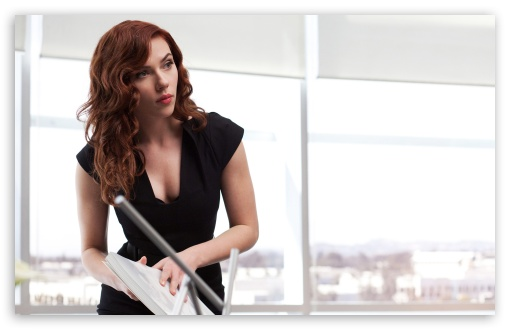Download Natasha Romanoff, Iron Man 2 UltraHD Wallpaper