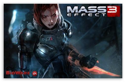 Download Mass Effect 3 Video Game UltraHD Wallpaper
