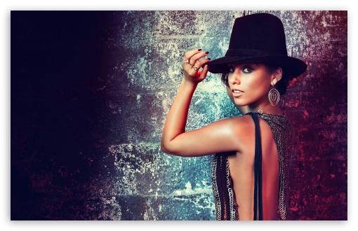 Download Alicia Keys UltraHD Wallpaper