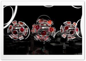Focused Spheres - Red