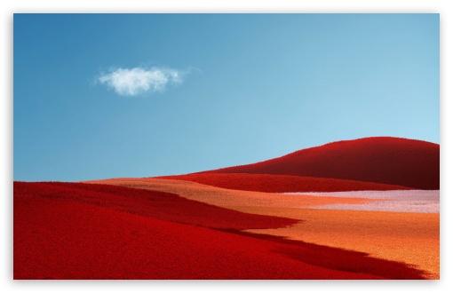 Download Red Landscape UltraHD Wallpaper