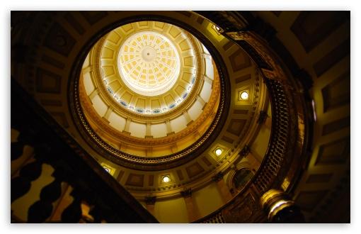 Download Dome of the Colorado State Capitol, Denver,... UltraHD Wallpaper