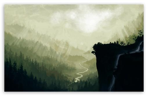 Download Lookout Mountain UltraHD Wallpaper