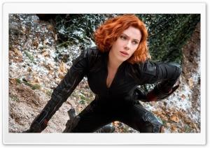 Black Widdow in Avengers Age...
