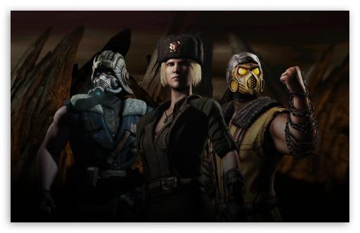 Download Mortal Kombat Kold War Fanmade UltraHD Wallpaper