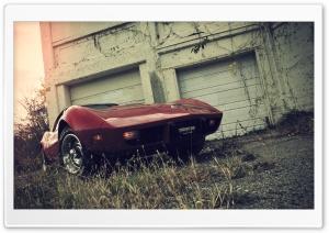 Chevrolet Corvette Red