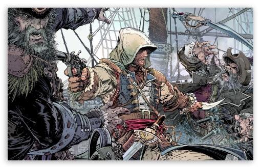 Download Assassins Creed Black Flag UltraHD Wallpaper