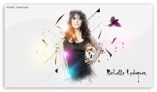 Download Michelle Rodriguez 2014 UltraHD Wallpaper