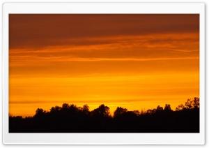 Sunset in Estonia.