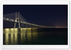 Vasco Da Gama Bridge at Night