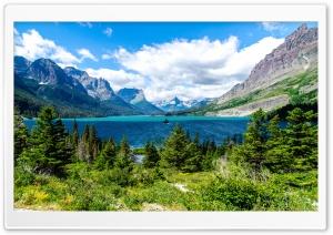 Saint Mary Lake Glacier...