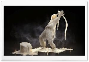 Melting Candle Wax