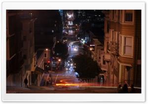 San Francisco At Night,...
