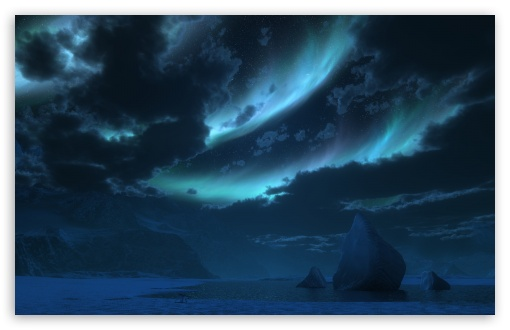 Download Antarctica Landscape 3D UltraHD Wallpaper
