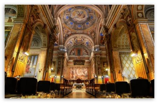 Download San Girolamo dei Croati, Rome, Italy UltraHD Wallpaper