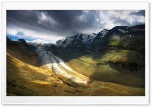 Continental Glacier Landscape