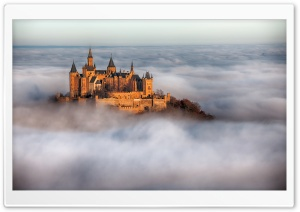 Hohenzollern Castle Fog, Germany