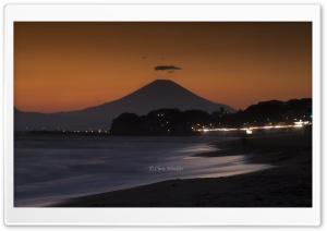 Mount Fuji at Sunset
