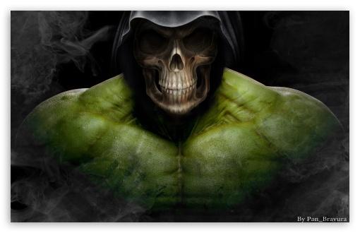 Download Hulkeleton UltraHD Wallpaper