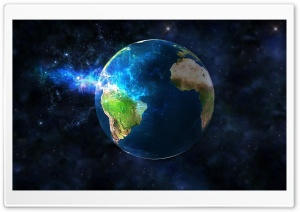 3D Earth Desktop Background