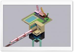 Train 3D